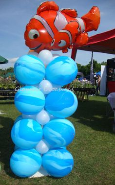 Finding Nemo Children's Party Fish  Balloon Display