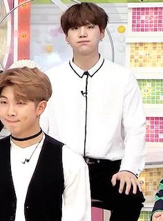 Suga be like: I don't care what they are saying, I'll just look in the camera making faces