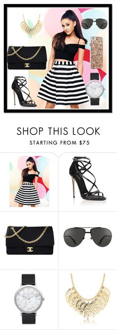 """""""My style 7"""" by hazreta-jahic ❤ liked on Polyvore featuring Lipsy, Dolce&Gabbana, Chanel, Linda Farrow, Elwood and Case-Mate"""
