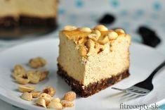 Tvarohovo - arašidový koláč - FitRecepty