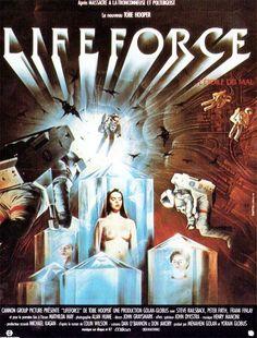 LifeForce (1985) poster Dir. Tobe Hooper