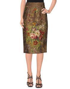 DOLCE & GABBANA Knee Length Skirt. #dolcegabbana #cloth #all