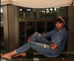 Jennifer Hudson Soho Jean collection