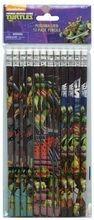 Teenage Mutant Ninja Turtles Brown Wooden Pencils Pack of 12