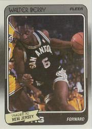1988-89 Fleer #102 Walter Berry RC - SAN ANTONIO SPURS !!! - NM-MT