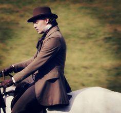 William Buxton (Tom Hiddleston) in Return to Cranford. ;)