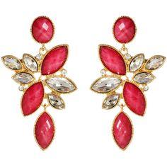 Tamira Earrings ($100) ❤ liked on Polyvore
