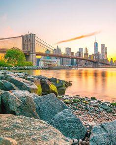 Sunset in New York City by @fullmetalphotography #newyorkcityfeelings #nyc #newyork