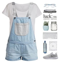 """""""I stared up just to see"""" by intanology ❤ liked on Polyvore featuring Pieces, Vans, NIKE, Chen Chen & Kai Williams, Crate and Barrel and Jason Wu"""