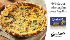 Find the best quiche recipes from the Graham's The Family Dairy site in this blog post. #Quiche #QuicheRecipes