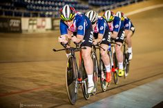 https://flic.kr/p/Ha85PJ | Wooden Road to Rio | Taking a spin at the Velo Sports Center velodrome in Carson, CA, with Team USA's new World Champion Women's Team Pursuit squad: Sarah Hammer, Chloe Dygart, Jennifer Valente and Kelly Catlin. This was a private shoot with USA Cycling in the leadup to the Summer Olympics in Rio.  Strobist: Profoto B1 Air with Profoto softbox positioned camera right, triggered with Profoto wireless transmitter.