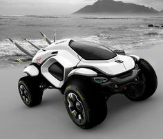 Husser Dakar Rally Concept -- I could see bouncing this around sand dunes!