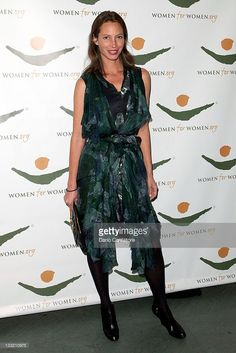 Christy Turlington attends the 2011 Women For Women International Gala at The Museum of Modern Art on November 17, 2011 in New York City.