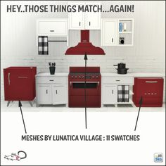 Why not really try Sims4 I said to myself.... • More kitchen appliances that I am in love with!...