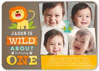 First Birthday Invitations | 1st Birthday Invites for Boys | Shutterfly