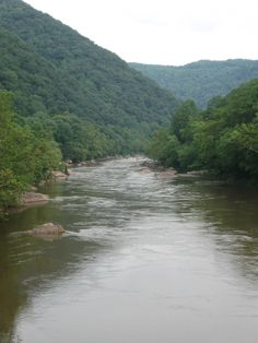 New River - Hinton wva Fayetteville Wv, Mountaineers Football, Fayette County, New River, Take Me Home, West Virginia, Rivers, Fun Things, Empty