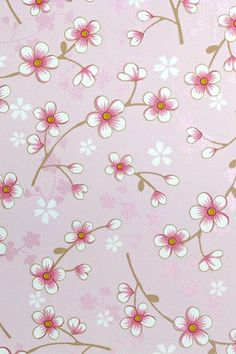 PiP Cherry Blossom Pink wallpaper