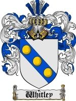 Whitley Coat of Arms / Family Crest Emailed to you in a 400 dpi JPEG downloadable file (or pdf upon request). The file will arrive in your email within 48 hours. Download it and use it freely to print for your own personal use. Use for letterhe...
