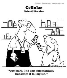 cell phone revolution funny cartoons | Cartoons About Cell Phones / Mobile Phones | Randy Glasbergen - Today ...