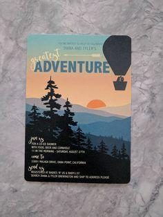 Greatest Adventure Baby Shower printable PDF Your Design, Custom Design, Baby List, Babies R Us, Greatest Adventure, Baby Shower Printables, Paper Size, Rsvp, Pdf