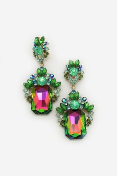 Everlynne Earrings in Vitrail | Women's Clothes, Casual Dresses, Fashion Earrings & Accessories | Emma Stine Limited $40