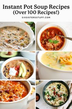 100+ of the Best Instant Pot Soup Recipes (So Easy To Make!)