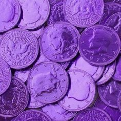 Buy and Save on Cheap Purple Chocolate Coins - 1 LB Bag at Wholesale Prices. Offering a large selection of Purple Chocolate Coins - 1 LB Bag. Cheap Prices on all Bulk Nuts, Bulk Candy & Bulk Chocolate. Dark Purple Aesthetic, Violet Aesthetic, Lavender Aesthetic, Rainbow Aesthetic, Aesthetic Colors, Aesthetic Pictures, Aesthetic Women, Aesthetic Gif, Aesthetic Collage