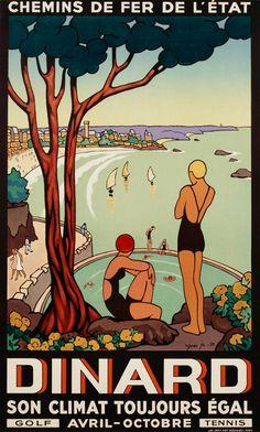 Edouard doigneau 1865 1954 bretagne arts architecture pinterest livres et art - Dinard office du tourisme ...