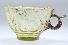 Handled Glass Cup, Ghaznavid, 11th-12th century
