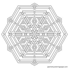 """""""Construct"""" from geometrycoloringpages.com"""