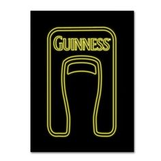 "Trademark Art ""Guinness VI"" by Guinness Brewery Vintage Advertisement on Wrapped Canvas Size:"