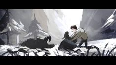 Canción de Lobos Cortometraje Animado