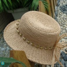 Crochet Summer Hat Sombreros 64 Ideas For 2019 Crochet Pillow Pattern, Afghan Crochet Patterns, Hat Patterns, Crochet Mittens, Crochet Yarn, Sombrero A Crochet, Crochet Summer Hats, Crochet Baby Bonnet, Fedora Hat Women