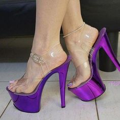 Foot Fetish Footographer: From the view of my camera lens 📸 . Thigh High Boots Heels, Hot High Heels, Platform High Heels, Purple Toes, Extreme High Heels, Stripper Heels, Pantyhose Heels, Gorgeous Heels, Sexy Legs And Heels