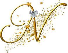 Alfabeto dorado con corazones | Fondos de pantalla y mucho más Monogram Logo, Monogram Letters, Letters And Numbers, Alphabet Letters, Lettering Styles, Lettering Design, Hand Lettering, Hello Kitty Imagenes, Alphabet Wallpaper