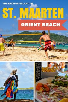 Orient Beach is a fun place to tan, enjoy the turquoise waters, and people watch on the Dutch side of St. Maarten.