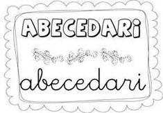 Llibret de l'abecedari