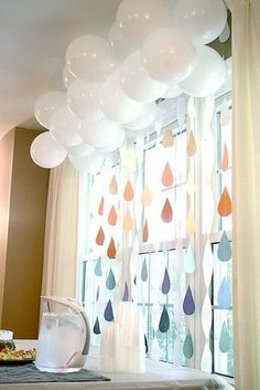 baby shower raindrops - Google Search