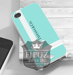 Tiffany&Co Gift Packing  iPhone 4/4s/5/5c/5s Case  by FipuzDesign, $15.00