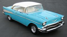 1957 Chevy Bel Air 2-Door Hardtop - My dad's car when we were kids in the 1950s and early 1960s