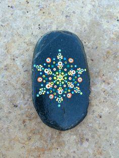 Hand Painted Mandala Rock                                                                                                                                                      More
