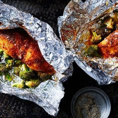with Smoked Paprika Butter and Broccoli in Foil Packets Tilapia with Smoked Paprika Butter and Broccoli in Foil Packets without that bread though!Tilapia with Smoked Paprika Butter and Broccoli in Foil Packets without that bread though! Tilapia Recipe Oven, Grilled Tilapia Recipes, Baked Tilapia In Foil, Baked Fish, Fish Recipes, Seafood Recipes, Grilled Fish, Grilled Salmon, Family Recipes