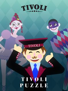 We are happy to announce that Tivoli Puzzle has now been officially launched! So spread the word, tell your friends and have fun while switching and matching. We definitely had fun today 🍾💐! To download the game check the link below: https://appsto.re/dk/d79xcb.i #tivoli #play #ios #appstore #freegame #indiedevelopment #illustration #inspector #ballerina #jocker