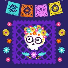 Office Halloween Costumes, Halloween Arts And Crafts, Frida Kahlo Party Decoration, Fall Clip Art, Day Of The Dead Art, Mexican Style, Mexican Party, Cute Costumes, Vector Design
