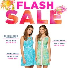 Lilly Pulitzer Flash Sale- UNHEARD of deals... get to it