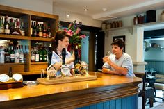 Nothing quite like a good pint and a friendly chat with the manager of the local pub! Have you met Adri at The Queen's Head in Clandon, near Guildford?