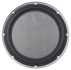 Six voice coil subwoofer - front view