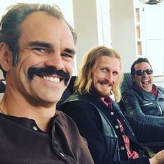Grinning Guys! Steven Ogg, Austin Amelio, Jeffrey Dean Morgan from The Walking Dead -- Waiting for Season 8B on February 25th! | We Are TWD
