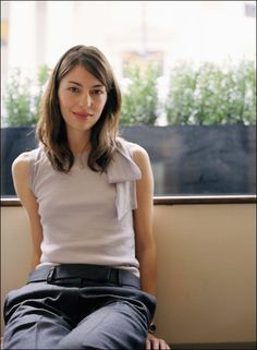 Sofia Coppola shot by Jamie Kingham 2003.