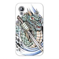 Instacase Cyan Dragon Silicone Case for Samsung Galaxy Ace S5830 #onlineshop #onlineshopping #lazadaphilippines #lazada #zaloraphilippines #zalora